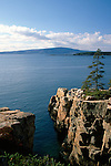 View of Cadillac Mountain from the Raven's Nest, Acadia National Park, Maine, USA