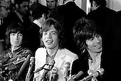 ROLLING STONES, PRESS CONFERENCE, 1969, BARON WOLMAN