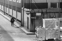- Milano, marzo 1994, strutture industriali dismesse nel quartiere Bovisa<br /> <br /> - Milan, Mars 1994, disused industrial facilities in the Bovisa district