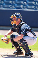 Tampa Bay Rays minor league catcher Stephen Vogt during an Instructional League game vs. the Minnesota Twins at Charlotte Sports Park in Port Charlotte, Florida;  October 5, 2010.  Photo By Mike Janes/Four Seam Images