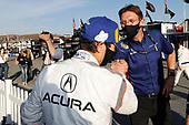 Winner #7 Acura Team Penske Acura DPi, DPi: Helio Castroneves, Acura engineer