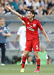 Olympique Lyonnais' Saki Kumagai during UEFA Women's Champions League 2015/2016 Final match.May 26,2016. (ALTERPHOTOS/Acero)