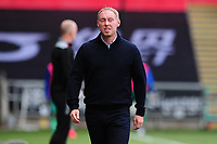 Steve Cooper Head Coach of Swansea City during the Sky Bet Championship match between Swansea City and Sheffield Wednesday at the Liberty Stadium in Swansea, Wales, UK. Sunday 05 July 2020
