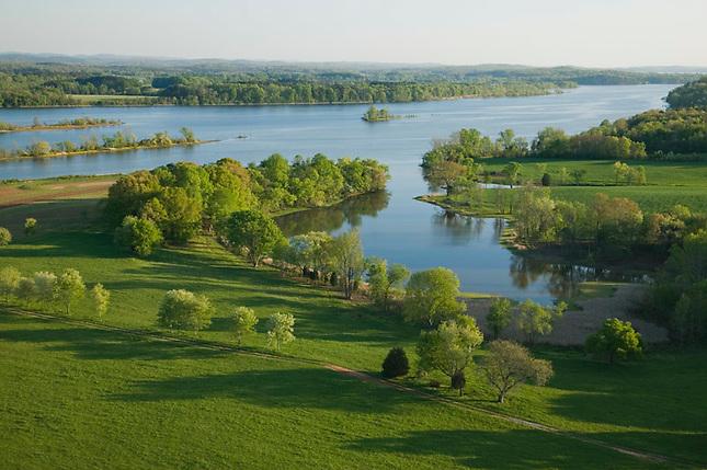 Farmland along Tennessee River