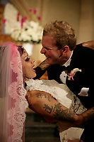 Bodog Music artist Bif Naked celebrates the happiest day of her life with new husband Ian Walker, sports writer for the Vancouver Sun. The two were married in a private church ceremony in Vancouver on Saturday. Contact: Greg Godden, Entertainment PR Coordinator, RIPTOWN.COM MEDIA, ggodden@riptown.com, or +1-866-533-2530 (CNW Group/Bodog.com)