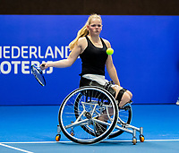 Alphen aan den Rijn, Netherlands, December 15, 2018, Tennispark Nieuwe Sloot, Ned. Loterij NK Tennis,  Donna Jansen (NED)<br /> Photo: Tennisimages/Henk Koster