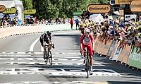 Casper Pedersen (DEN/DSM) finishes 3rd on this stage<br /> <br /> Stage 19 from Mourenx to Libourne (207km)<br /> 108th Tour de France 2021 (2.UWT)<br /> <br /> ©kramon