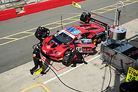 Changover in qualifying for Michael Igoe & Phil Keen, Lamborghini Huracan GT3 EVO, WPI Motorsport during the British GT & F3 Championship on 10th July 2021