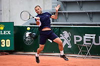 27th September 2020, Roland Garros, Paris, France; French Open tennis, Roland Garros 2020; Daniel Evans (gbr)