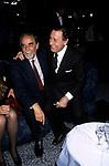 ALBERTO SORDI  E  VITTORIO GASSMAN<br /> FESTA PER L'OSCAR A GABRIELLA PESCUCCI - GILDA CLUB ROMA  1994