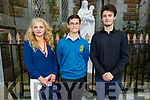 Fabijn Kajic former student of Moyderwell NS now going to Mounthawk receiving his Confirmation in St Johns Church on Sunday, standing with his mother Mrijan and brother Dorian Kajic.