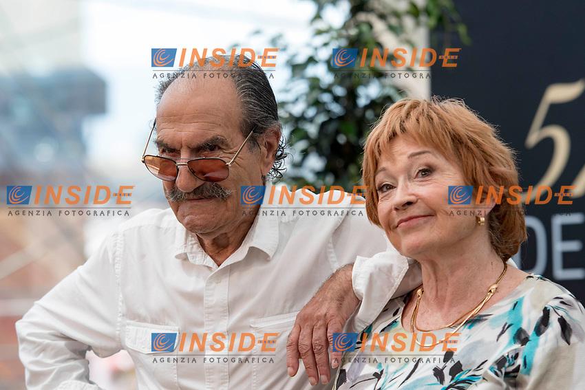 Gerard Hernandez (Scenes de menages) - Marion Game (Scenes de menages) Monaco - 17/06/2017<br /> 57 festival TV Monte Carlo <br /> Foto Norbert Scanella / Panoramic / Insidefoto