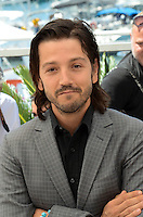 Diego Luna attend the 'Blood Father' photocall during the 69th annual Cannes Film Festival at Palais des Festivals on May 21, 2016 in Cannes, France.