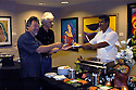 AJ Alexander - Food was catered by Super Events (623-377-2001) for The RODOLFO ESCALERA ART SHOW at the ALAC GALERIA 147, 147 E. Adams Down Town Phoenix, Arizona, on Wednesday June 15, 2011.Photo by AJ Alexander