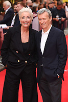 """Emma Thompson and Producer Duncan Kenworthy<br /> arriving for the premiere of """"The Children Act"""" at the Curzon Mayfair, London<br /> <br /> ©Ash Knotek  D3420  16/08/2018"""