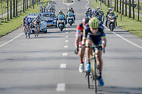 Jens Keukeleire (BEL/Orica-Scott) & Greg Van Avermaet (BEL/BMC) jumped away from their competitors and force the final/decisive move that way, while Niki Terpstra (NED/Quick-Step Floors) & Peter Sagan (SVK/Bora-Hansgrohe) aren't willing to close the gap and try to outrun each other instead<br /> <br /> 79th Gent-Wevelgem 2017 (1.UWT)<br /> 1day race: Deinze › Wevelgem - BEL (249km)