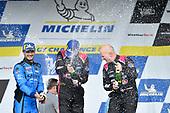 #86 Meyer Shank Racing w/ Curb-Agajanian Acura NSX GT3, GTD: Mario Farnbacher, Trent Hindman, #33 Mercedes-AMG Team Riley Motorsports Mercedes-AMG GT3, GTD: Ben Keating, Jeroen Bleekemolen