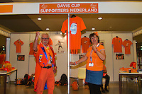 September 12, 2014, Netherlands, Amsterdam, Ziggo Dome, Davis Cup Netherlands-Croatia, Supporters club<br /> Photo: Tennisimages/Henk Koster