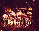 Kiss 1976 Peter Criss.© Chris Walter.
