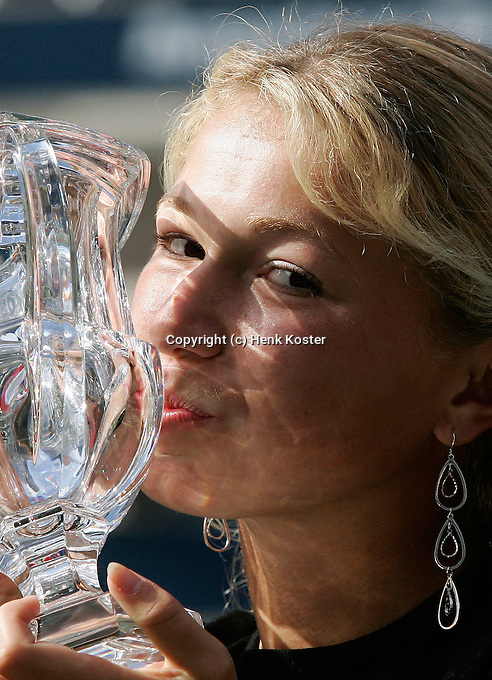 USA, New York, US OPEN 2004.MICHAELLA KRAJICEK (NED)