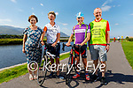 Launching the fundraising cycle for the Kerry Hospice Foundation and the Samaritans, which is going ahead from the John Mitchels GAA Complex on Saturday 9th October, l to r: Mary Shanahan, Maura Sullivan, Michael Mannix and Pat Sullivan.