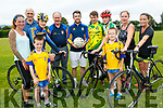 It's time to get your cycling gear for the Ring of the Reeks annual cycle which is in aid of Beaufort GAA club and Killorglin Cycling Club on Saturday, July 29th. <br /> front left to right Anne Gabbett, Patrick Galvin, Fionán O'Sullivan, Shane Galvin, Cormac O'Sullivan and Louise Riordan. <br /> back left to right Jack McGrath, Neil O'Sullivan, Jason Foley, Eanna O'Malley and Susan Barrett