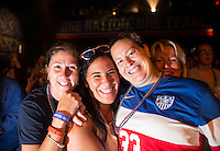 Montreal, Canada - June 29, 2015:  U.S. Soccer held a fan Headquarters before the semifinals of the FIFA Women's World Cup at Montreal Stadium.