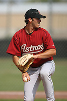 March 16th 2008:  Sean Walker of the Houston Astros minor league system during Spring Training at Osceola County Complex in Kissimmee, FL.  Photo by:  Mike Janes/Four Seam Images