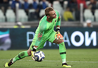 International friendly football match Italy vs The Netherlands, Allianz Stadium, Turin, Italy, June 4, 2018. <br /> Netherlands' goalkeeper Jasper Cillessen during the international friendly football match between Italy and The Netherlands at the Allianz Stadium in Turin on June 4, 2018.<br /> UPDATE IMAGES PRESS/Isabella Bonotto