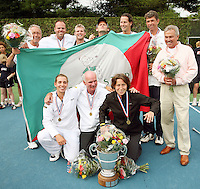 17-6-07, Groenekan, Playoffs Eredivisie Tennis,