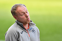 Steve Cooper Head Coach of Swansea City during the pre season friendly match between Swansea City and Forest Green Rovers at the Liberty Stadium in Swansea, Wales, UK. Tuesday 01 September 2020