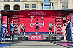 Race leader Maglia Rosa Egan Bernal (COL) Ineos Grenadiers wins the overall classification with Damiano Caruso (ITA) Bahrain Victorious in 2nd and Simon Yates (GBR) Team BikeExchange 3rd at the end of Stage 21 of the 2021 Giro d'Italia, an individual time trial running 30.3km from Senago to Milan, Italy. 30th May 2021.  <br /> Picture: LaPresse/Massimo Paolone   Cyclefile<br /> <br /> All photos usage must carry mandatory copyright credit (© Cyclefile   LaPresse/Massimo Paolone)