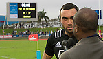 Charlie Ngatai. Maori All Blacks vs. Fiji. Suva. MAB's won 27-26. July 11, 2015. Photo: Marc Weakley