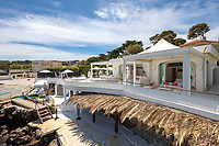 BNPS.co.uk (01202 558833)<br /> Pic: CapVillas/BNPS<br /> <br /> It was once a renowned beach club and the list of names connected to the property are endless.<br />  <br /> A glamorous villa that has hosted a string of celebrities including Winston Churchill, Pablo Picasso, the Duke of Windsor and Edith Piaf is on the market for £9m (10.5m euros).<br /> <br /> The exquisite Villa La Garoupe Beach sits on a natural sand beach and has its own private beach on one of the French Riviera's most exclusive spots.<br /> <br /> The property in Cap d'Antibes has four bedrooms suitable for six to eight people, three bathrooms and a living area overlooking the sea.