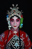 China, Peking, Pekingoper, weibliche Hauptrolle (Dan)
