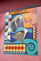Ft. Lauderdale, Florida - River Walk Mosaic, Las Olas.