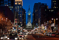 Broad Street, Philadelphia, Pa, Pennsylvania, USA