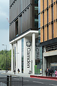 The Pancras Square development at Kings Cross includes new Camden Council offices, community and leisure facilities.