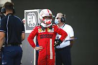 4th June 2021; Baku, Azerbaijan; Free practise sessions;  LECLERC Charles mco, Scuderia Ferrari SF21, portrait during the Formula 1 Azerbaijan Grand Prix 2021 at the Baku City Circuit, in Baku, Azerbaijan