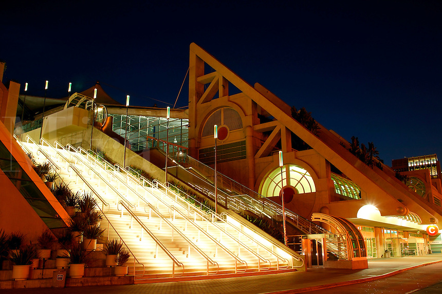 The San Diego Convention Center, downtown San Diego, California