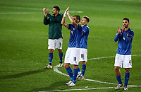 Italy's players applaud at the end of the UEFA Nations League football match between Italy and Netherlands at Bergamo's Atleti Azzurri d'Italia stadium, October 14, 2020.<br /> UPDATE IMAGES PRESS/Isabella Bonotto