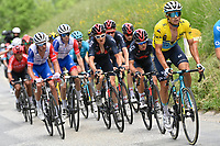 5th June 2021; La Plagne, Tarentaise, France;  LUTSENKO Alexey (KAZ) of ASTANA - PREMIER TECH in action during stage 7 of the 73th edition of the 2021 Criterium du Dauphine Libere cycling race, a stage of 171km with start in Saint-Martin-Le-Vinoux and finish in La Plagne