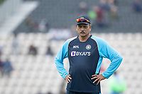 Ravi Shastri, Head Coach, India during India vs New Zealand, ICC World Test Championship Final Cricket at The Hampshire Bowl on 20th June 2021