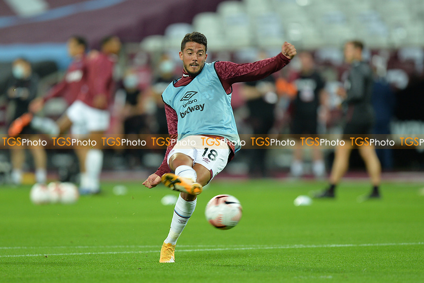 Pablo Fornals of West Ham United during West Ham United vs Newcastle United, Premier League Football at The London Stadium on 12th September 2020