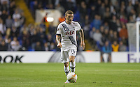 Kieran Trippier of Tottenham Hotspur on the ball during the UEFA Europa League match between Tottenham Hotspur and Qarabag FK at White Hart Lane, London, England on 17 September 2015. Photo by Andy Rowland.