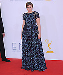Lena Dunham at The 64th Anual Primetime Emmy Awards held at Nokia Theatre L.A. Live in Los Angeles, California on September  23,2012                                                                   Copyright 2012 Hollywood Press Agency