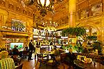 Belgium, Province Brabant, Brussels: Cafe Metropole, bar and restaurant of the Hotel Metropole (de Brouckereplein) | Belgien, Provinz Brabant, Bruessel: Cafe Metropole, Bar und Restaurant des Hotel Metropole (de Brouckereplein)