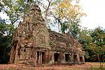 Ancient Preah Kahn Ruins, Cambodia