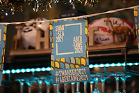 Pictured: Culture Bid banners at the Hyst in Swansea, Wales, UK. Thursday 07 December 2017<br />Re: Coventry has been chosen to be the UK's City of Culture for 2021.<br />The other places in the running for the title were Swansea, Paisley, Stoke-on-Trent and Sunderland.