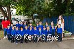 35 b2s Killorglin 1<br /> <br /> Mrs Myers' Junior Infants class ay Scoil Mhuire, Killorglin with <br /> Left: SNA Aisling Evans and R: Teacher Orla Myers
